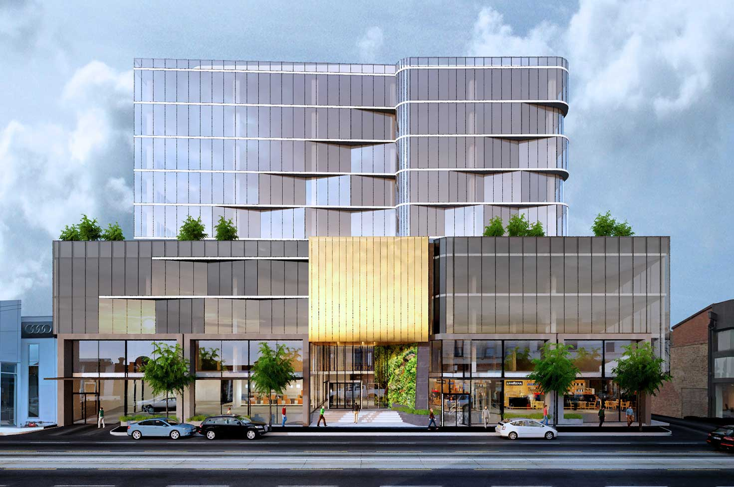 Swan Street commercial architecture frontage