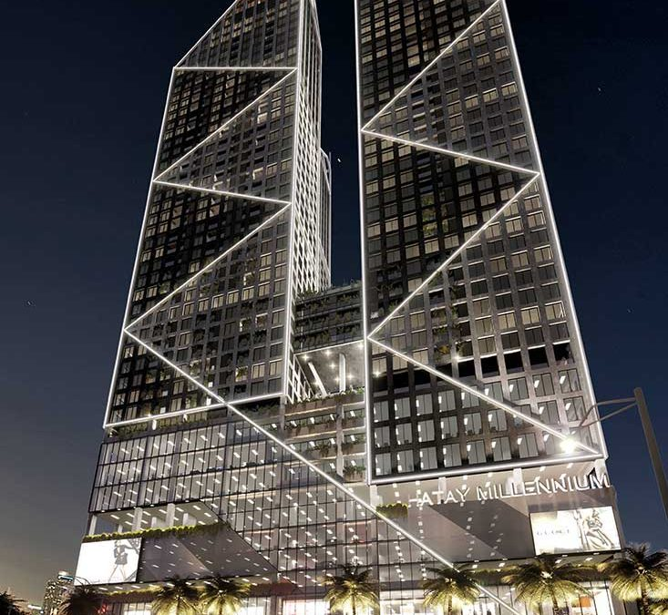 Millennium Tower – Ha Tay Province – Architecture