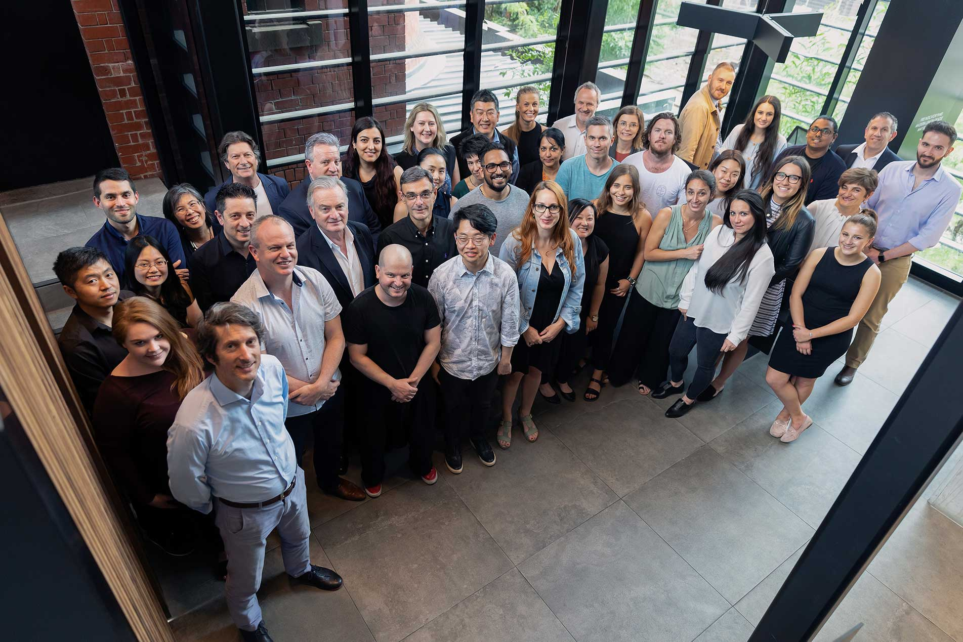Bruce Henderson Architects and Interiors Staff Group Image